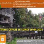 Ouverture des fortins depuis le 19  avril 2021